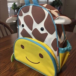 SKIP HOP ZOO Giraffe Backpack. Gently used.